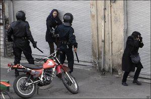 تصاوير درگيري ها و ناآرامي هاي شديد امروز تهران